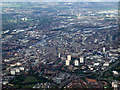 NS6066 : Glasgow from the air by Thomas Nugent