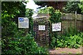 SO8170 : Entrance to Redstone Caravan Park, Stourport-on-Severn by P L Chadwick