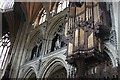 TL5480 : Organ in Ely Cathedral by J.Hannan-Briggs