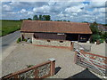 TG4226 : The entrance to Willow Farm Barn, Sea Palling by Richard Humphrey