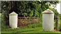 J5371 : Gateposts, Cunningburn near Newtownards by Albert Bridge