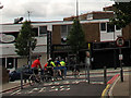 TQ3974 : Traffic barrier, Meadowcourt Road by Stephen Craven