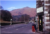 NY3307 : Grasmere village 1974 by John M Wheatley