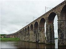 NT9953 : Berwick Upon Tweed Architecture : The Royal Border Bridge by Richard West