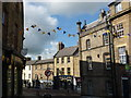NU1813 : Alnwick Townscape : Fenkle Street Runs Into Narrowgate, Alnwick by Richard West
