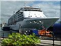 SW8132 : Falmouth Docks - Seven Seas Voyager by Chris Allen