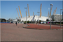 TQ3979 : North Greenwich:  Unused space by Dr Neil Clifton