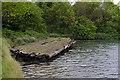 SU6100 : Gosport - Forton Lake Pontoon by Chris Talbot