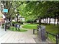 SJ8398 : Manchester Peace Garden by Gerald England