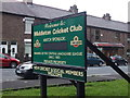 SD8706 : Middleton Cricket Club - Entrance by BatAndBall