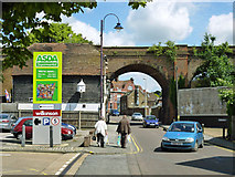 TQ7369 : Railway over North Street, Strood by Robin Webster