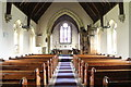 TF1476 : Interior, St Giles' church, Langton by Wragby by J.Hannan-Briggs