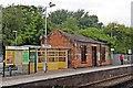 SD2908 : Platform Building and Shelter, Freshfield Railway Station by El Pollock