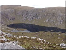 NG9982 : Loch Toll a' Mhadaidh by Sally