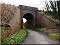 SU1660 : Pewsey - Railway Bridge by Chris Talbot