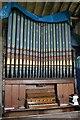 TF0043 : Organ in St Mary's church, Wilsford by J.Hannan-Briggs