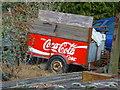 SU1560 : Pewsey - Coke Trailer by Chris Talbot