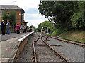 TL5503 : Track & platform, Ongar Station by Roger Jones