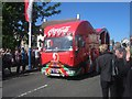 NT9952 : Coca-Cola float - Olympic torch relay (6) by Graham Robson
