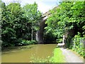 SJ3970 : Railway Viaduct (Bridge 132) Shropshire Union Canal by Jeff Buck