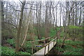TQ8931 : Private access to Ratsbury Wood by N Chadwick
