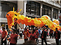 SJ8398 : Chinese Dragon on Deansgate by David Dixon