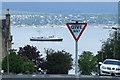 NS2677 : MV Balmoral passing Greenock by Thomas Nugent
