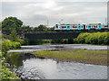 SD7909 : River Irwell, Metrolink Bridge by David Dixon