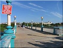 SD3317 : Bridge over Marine Lake by Andrew Tatlow