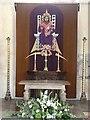 TF9839 : Altar and dossal, Binham Priory Church by Oliver Dixon