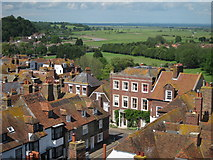 TQ9220 : View from Rye Church Tower by Oast House Archive