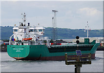J3576 : The 'Arklow Freedom' at Belfast by Rossographer