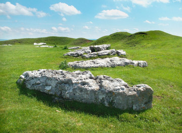 SK1663 : Stones at Arbor Low by Des Blenkinsopp