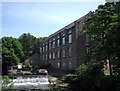 SK2083 : Bamford Mill by Stephen Burton