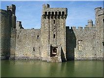 TQ7825 : Bodiam Castle south gate by Paul Gillett