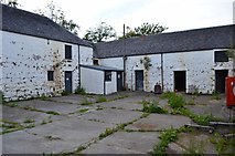 NM4099 : Isle of Rum SNH buildings by Ashley Dace
