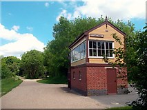 SK1461 : Hartington Signal Box by Des Blenkinsopp