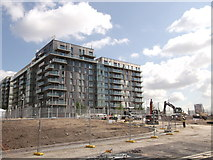 TQ3884 : Athletes' Village, Olympic Park (4) by David Anstiss