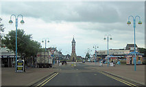 TF5663 : Clock tower from Tower Esplanade by John Firth