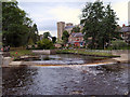 SE3170 : River Skell, Alma Weir by David Dixon