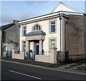 SS8591 : Masonic Temple, Maesteg by Jaggery
