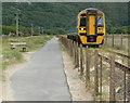 SH6214 : Arriva train approaching Barmouth Bridge by Mat Fascione