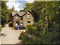 SJ9481 : West Park Gate Lodge by David Dixon