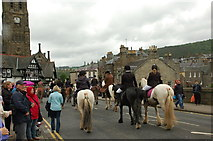 NT2540 : Riders at Peebles Beltane Festival (2) by Jim Barton