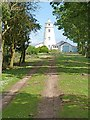 TF4925 : Sir Peter Scott Lighthouse by Oliver Dixon