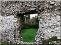 TQ5465 : Through Eynsford Castle window by PAUL FARMER