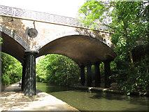 TQ2783 : Macclesfield Bridge, west side by Stephen Craven