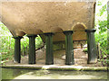 TQ2783 : Columns and arches by Stephen Craven