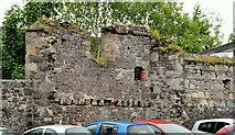 J4569 : Old wall, Comber by Albert Bridge