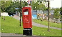 J4073 : Pillar box, Tullycarnet, Belfast by Albert Bridge